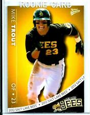 *Mike Trout*  2012 Salt Lake City Bees # 29 Of 30  *Rookie*  Minor League Rare