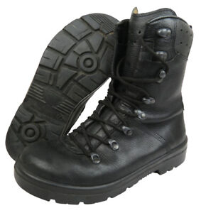 GERMAN ARMY PARA BOOTS MILITARY SPECIAL FORCES CADET LEATHER COMBAT