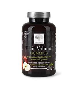 Nordic Hair Volume Gummies | With Biotin for Healthy Hair Skin & Nails | Swedish