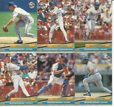 1992 Ultra Milwaukee Brewers Team Set
