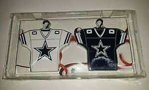 Dallas Cowboys Home and Away Jersey Ornament Set