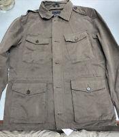 Banana Republic Factory Men's 4 Pocket Field/Military Jacket size L