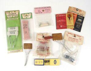 Lot of Vintage/NOS Resistor Thermistor Belimiter Diode + 14 Electronics Parts