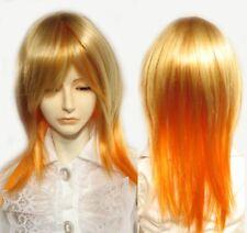 JO JO BJD Doll Wig Size 7-8 Golden Blonde and Orange