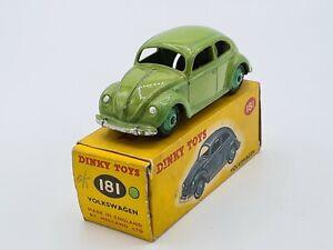 Dinky Toys GB 181 - VW 1200 green - W/BOX - NO ATLAS