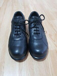Camper Mens Pelotas Ariel  Black Leather Shoes Trainers Size 9