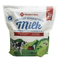 Member's Mark Non-Fat Instant Dry Milk (70.4 oz.)Fortified With Vitamins A and D