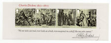 Gb 2012 Charles Dickens 1812-1870 Minisheet with Four Values Nv1St Mnh.