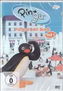 DVD Pingu in der Stadt Teil 1(...in the City,Otmar Gutmann,13 Episoden)Neu,OVP