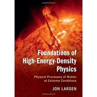 Foundations High-Energy-Density Physics Physical Proc. 9781107124110 Cond=LN:NSD