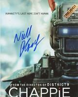 "Neill Blomkamp ""Chappie"" Director AUTOGRAPH Signed 8x10 Photo ACOA"