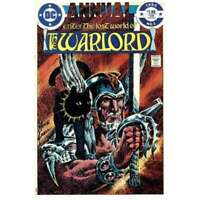 Warlord (1976 series) Annual #1 in Very Fine + condition. DC comics [*h0]
