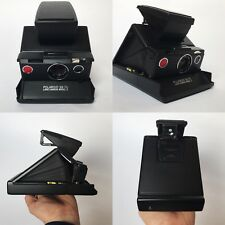Beautiful Polaroid SX-70 Model 2 Camera - Black. Fully Tested & Working