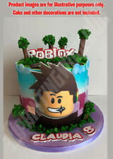 Roblox Games Cake Cake Toppers Cupcake Picks Video Games For Sale Ebay