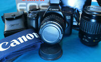 Canon EOS 1000 with 2 Lenses: 70-200mm and 35-80mm