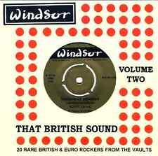 THAT BRITISH SOUND - VOLUME 2 - RARE 50s & 60s  ROCKERS - HEAR EXCERPTS