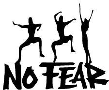 No Fear Vinyl Decal - Window sticker Car RV Hunting Outdoor Vinyl Decal USA