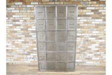 Extra Large industrielle métallique de style armoire/Vieux Casier Style W121cm X H206cm