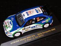 IXO 1/43 RAM198 Citroen Xsara WRC #19 Rally Acropolis 2005 X.Pons