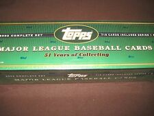2002 TOPPS BASEBALL SET FACTORY SEALED SER I & 2 BECKETT VALUE $80 FREE SHIPPING