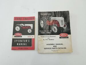 Ford 8N operators and Parts manuals