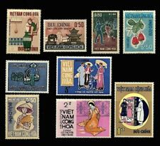 VIETNAM CONG-HOA  9 Stamps 1964-1970 MH