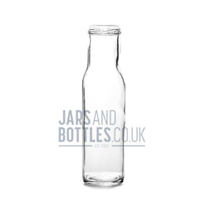 250ml Round Sauce bottle perfect for oils, sauces & dressings (Inc caps)
