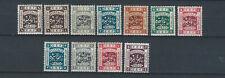 Brit Comm 1920s Transjordan East of Jordan stamp values to 5 p