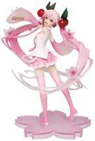 Vocaloid Hatsune Sakura Miku 2020 ver. Cherry Blossom Figure Pink 18cm Anime