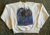 Vintage 1996 Kentucky Derby 122 Sweatshirt Graphic White Men XL Horse Race