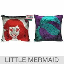 "Disney Princess Mermaid 2-In-1 Reversible Sequin Pillow 20""x20"" BRAND NEW!!!"