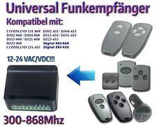 Ricevitore wireless universale compatibile con MARANTEC Rolling FIXED codice 300mhz-868mhz