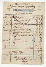 fattura antica - RUSCONTI FRATELLI 1869