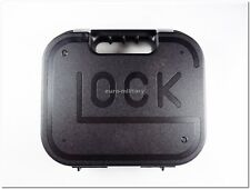 GLOCK® Original Factory New HandGun Storage Case for ALL Glock Models - Black