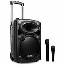 Ibiza Port10VHF-BT-WH Impianto audio portatile cassa attiva (500 Watt, (h4G)