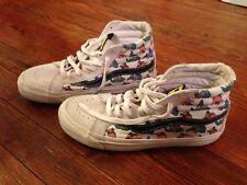 9a0d6df06b2 VANS Vault High Top SK8-Hi SpongeBob Shoes Patrick Sneakers White M W Sz