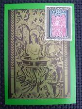 ANDORRA MK 1970 FRESCOES MAXIMUMKARTE CARTE MAXIMUM CARD MC CM c797