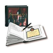 10 x Wine Labels-Album of FA Safe 7595 NEW
