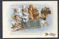 Ca 1938 Post Card Spanish Comic Card For Catering Services Mint Worth $18.50