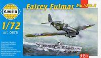 FAIREY FULMAR Mk II (ROYAL NAVY MARKINGS - OPERATION TORCH) 1/72 SMER RARE!
