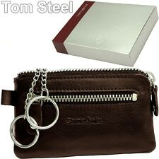 Samsonite Key Case, 2 Rings, Key Case, Key Bag, Leather, NEW