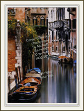 Int'l BestOfShow winner- Michael Seewald's large Canal Reflections, Venice Italy