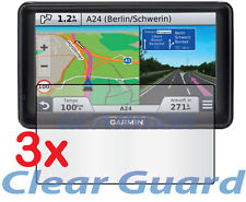 "3x Clear LCD Screen Protector Garmin Nuvi 2797 2797LT 2797LM 2797LMT LMT 7"" GPS"