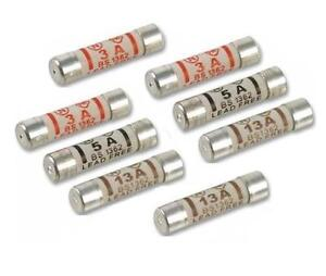 MIXED DOMESTIC FUSE PACK 4x13A,2x5A,2x3A AMP FOR UK PLUG