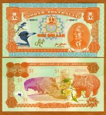 South Australia, $1, 2021, Limited Private Issue, Wombat, David Unaipon