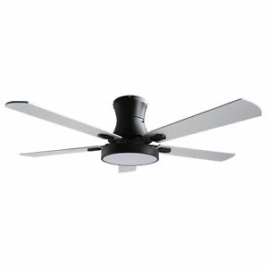 """42"""" Ceiling Fan w/LED Light & Remote Dimmable Lamp 3-Speed Change Baroque Style"""