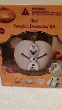 Disney Olaf Pumpkin Decorating Kit Jack O Latern Halloween Frozen