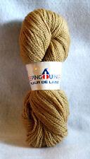 Pingouin Fleur De Laine Beige Yarn - 1320 Yds - 8 Skeins - Wool 800 Gr Aran Wt