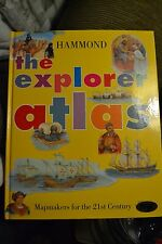 ~ THE EXPLORER ATLAS - HAMMOND - MAPMAKERS FOR THE 21ST CENTURY EDUCATIONAL BOOK