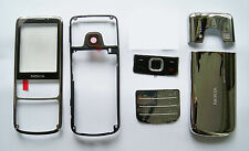 Full Housing facia Cover Case Fascia for Nokia 6700 Classic 6700C silver -000889